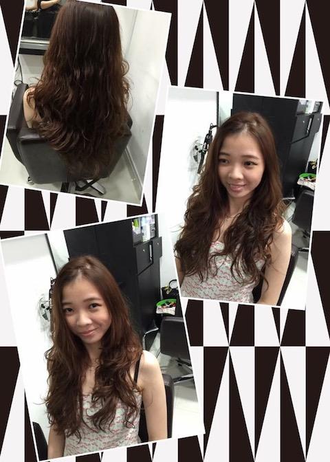 Winn S Home Salon Straightened Hair Perm Hair Color Hair