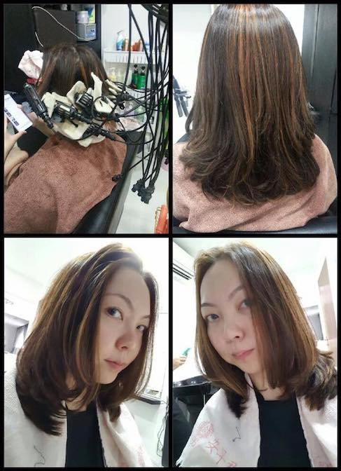 Winns Home Salonstraightened Hair Perm Hair Color Hair